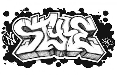 Modern graffiti letters12