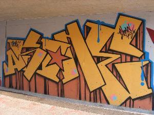 Modern graffiti letters10