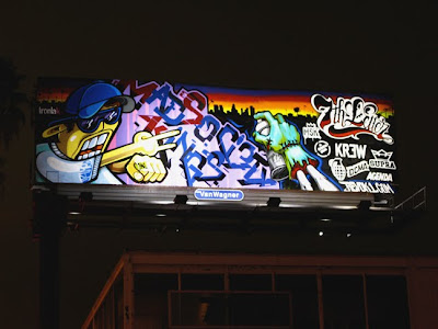Modern graffiti letters2