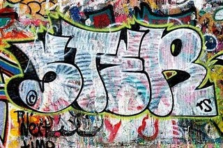 graffiti letters, bubble letters graffiti
