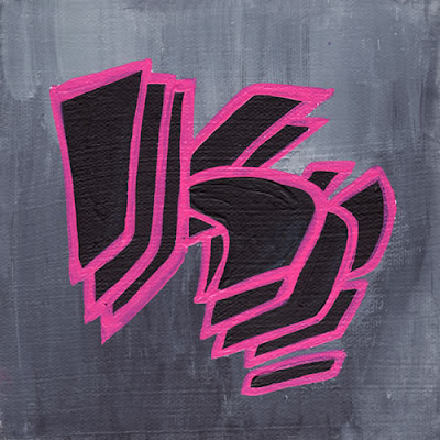 graffiti alphabet, K