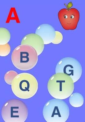 graffiti 3D, bubble letter, alphabet