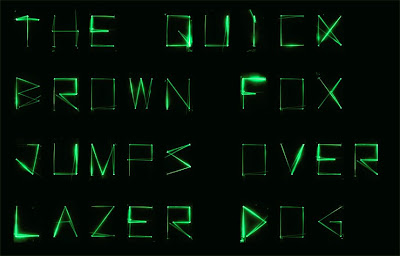 green, graffiti alphabet