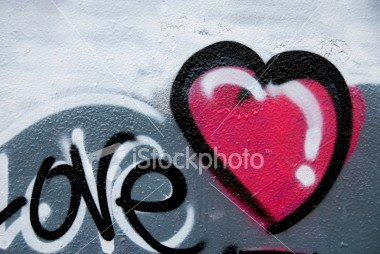 love, graffiti alphabet