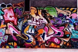wild style 3d graffiti alphabet
