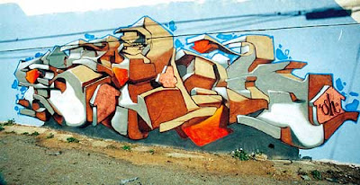 bubble graffiti alphabet