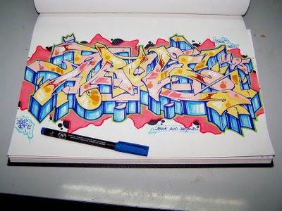Draw Bubble Letters 2