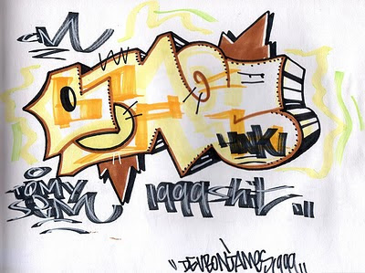 Sick Graffiti Alphabet2