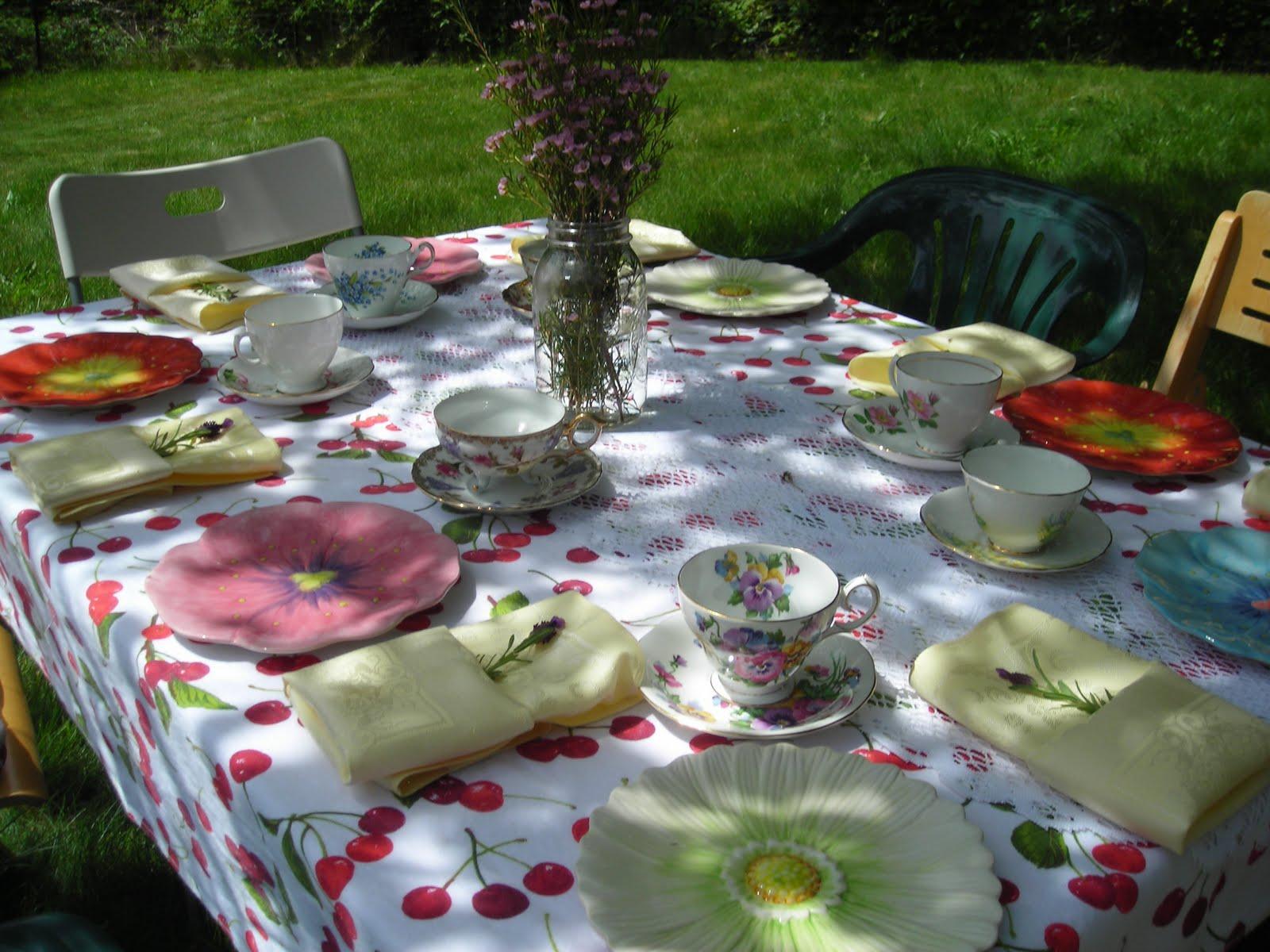 La Dolce Vita Diva Garden Tea Party