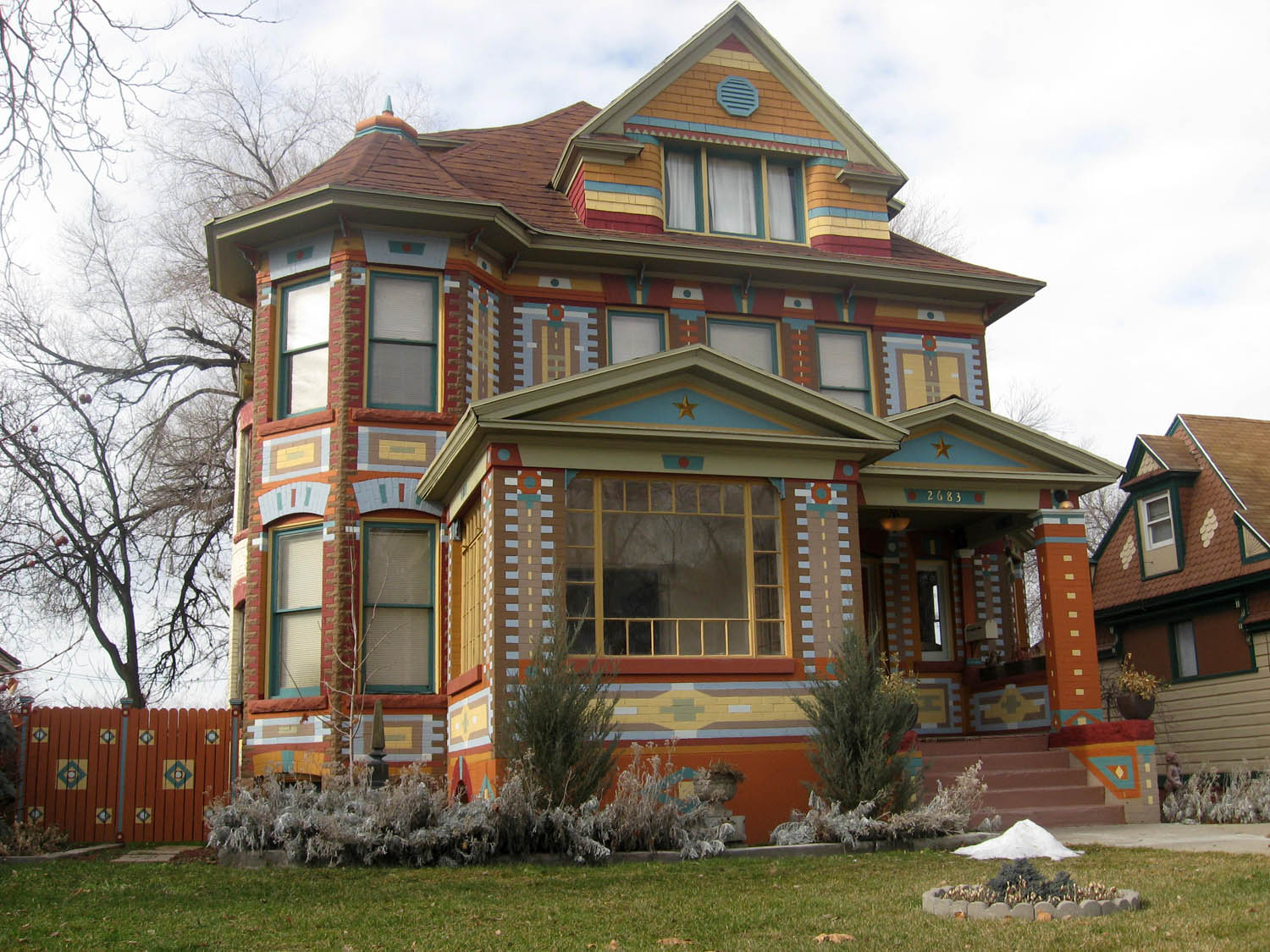 Ogden insights photo of the day ogden 39 s painted lady for House plans ogden utah