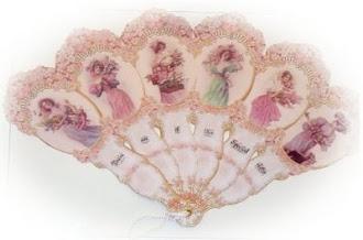 abanico victoriano ladys