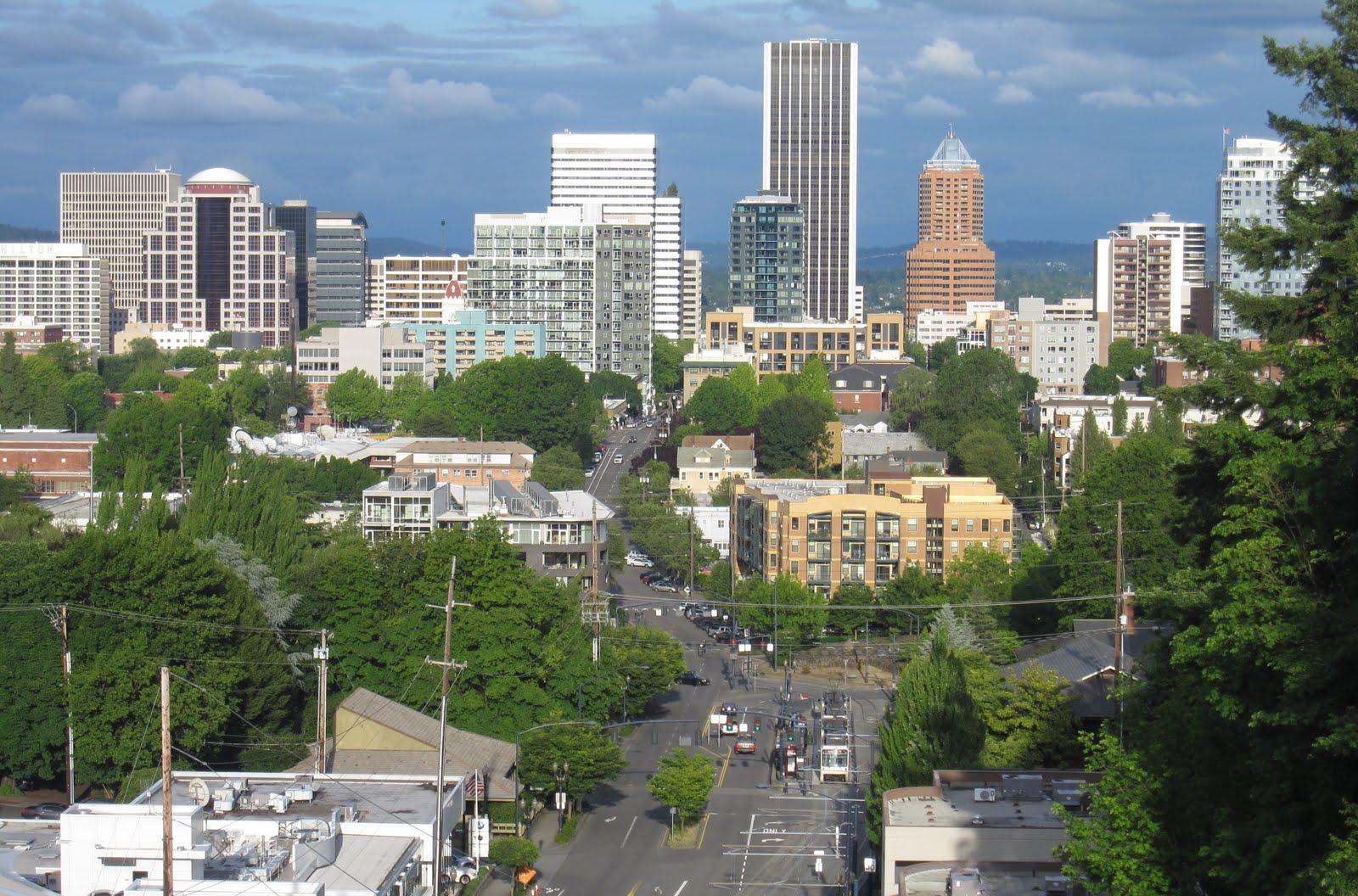Portland or daily photos portland city view for Porte and or