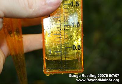 rain gauge 55079 9/7/07