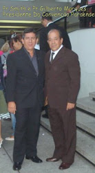 Pr.Smith  e Pr.Gilberto Marques