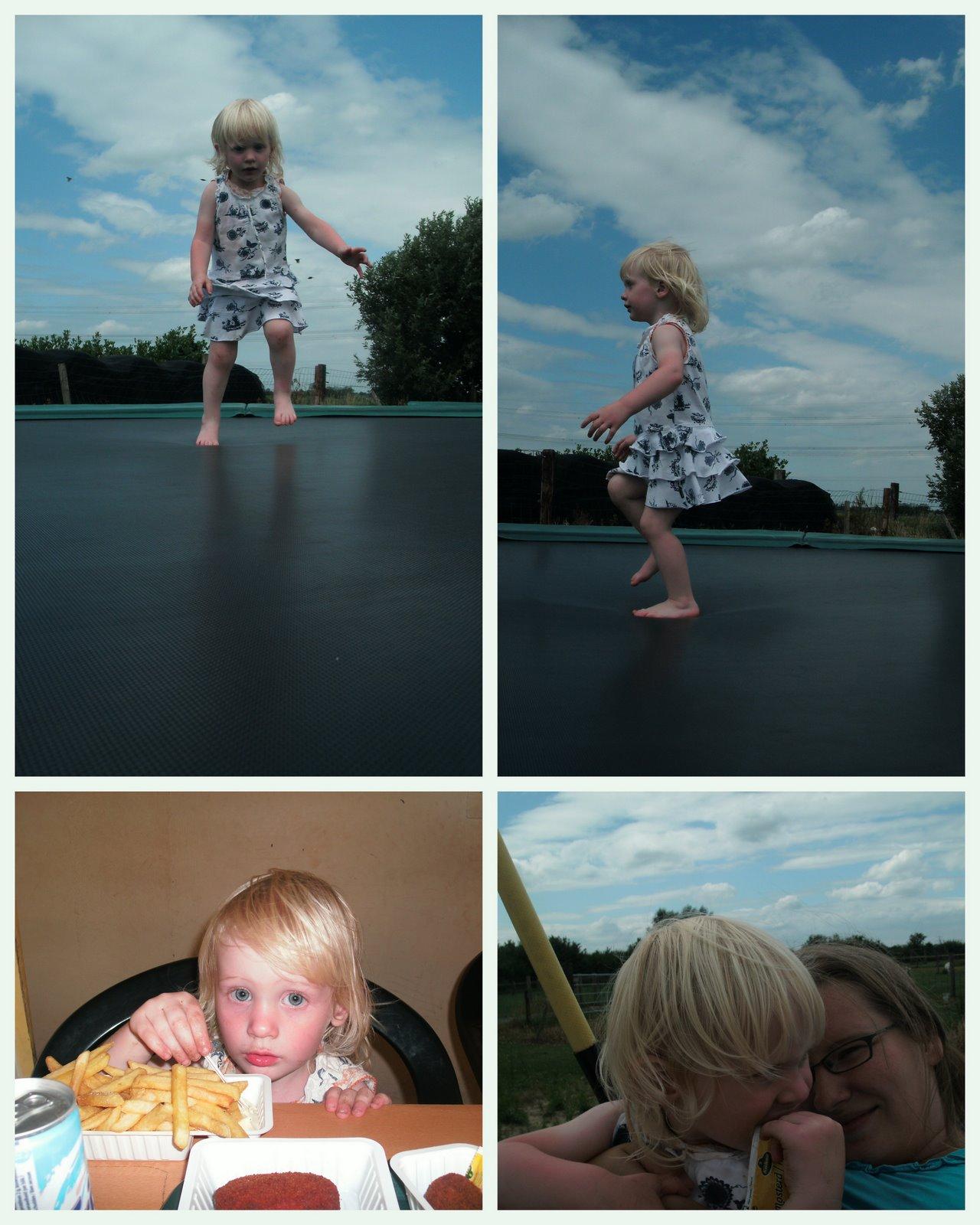 Hier is hidde en de rest van de familie juli 2010 for Speel en kinderboerderij oudleusen