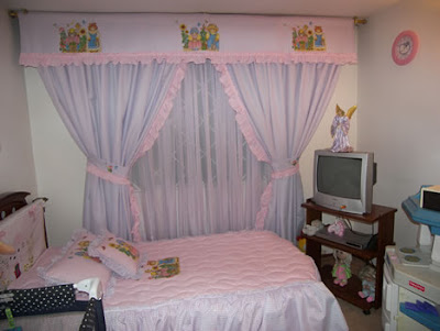 Nuestros bebes junio 2008 - Cortina habitacion bebe ...