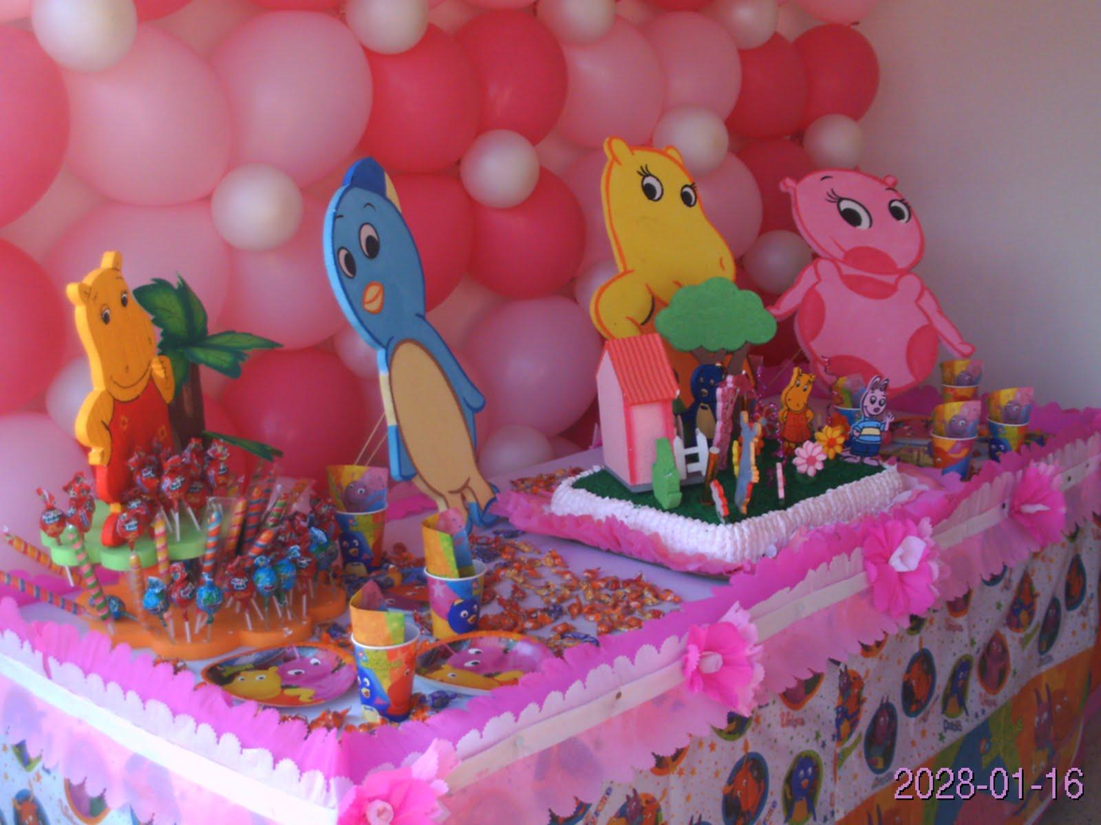 Fiestas Infantiles Baby Kids: FIESTA DE BACKYARDIGANS