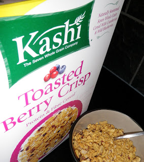 Toasted Berry Crisp - Kashi - Scrumptiously Fit Food