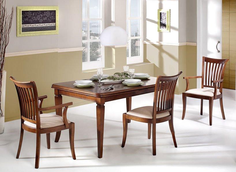 Mesas de comedor por la decoradora experta c mo os for Modelos de comedores redondos