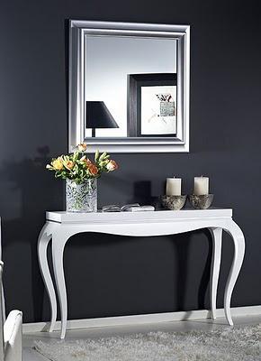 Decoracion mueble sofa consolas modernas para recibidor - Muebles recibidor modernos ...