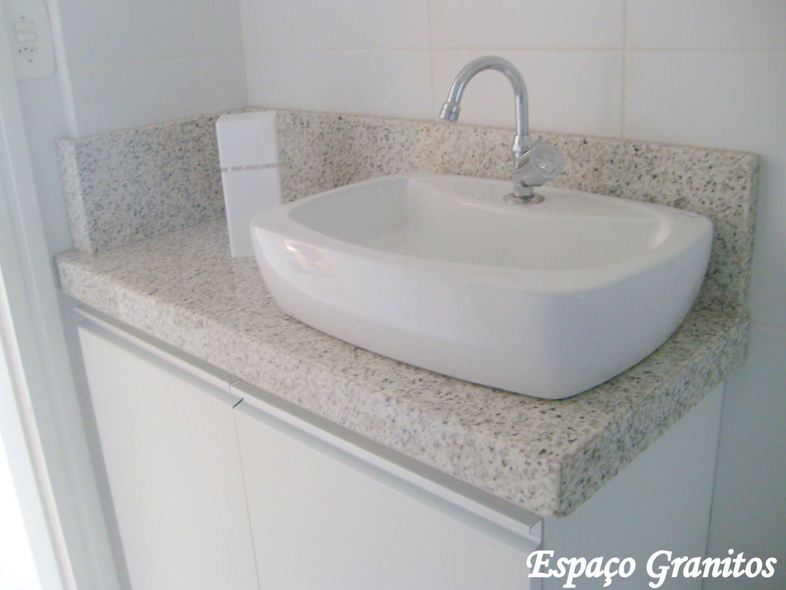 Granitos e Mármores: Lavabos #5B5E51 1600x1200 Banheiro Branco Itaunas