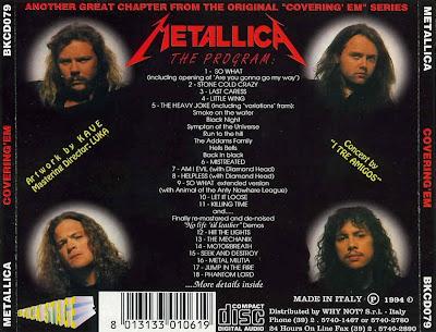 METALLICA - COVERING'Em - 320 Kbps (Recorded Live - Various Locations and Dates) Metallica_Covering_Em_back