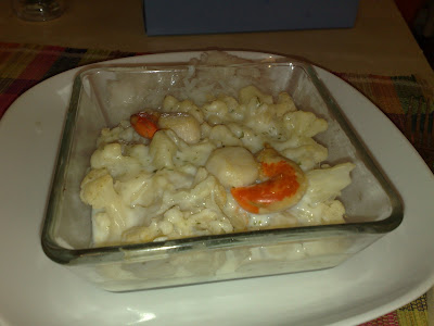 recettes legumes  Gratin soufflé de chou fleur (Thermomix)