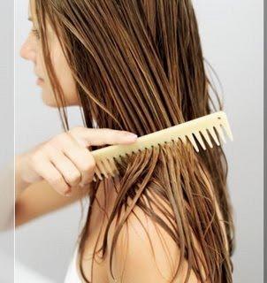 meluruskan rambut