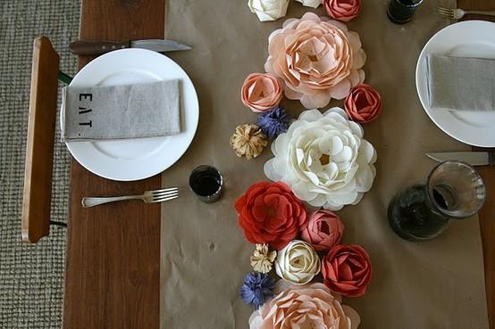 Украшение для стола своими руками на день рождения