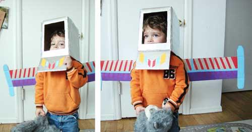 handmade space helmet