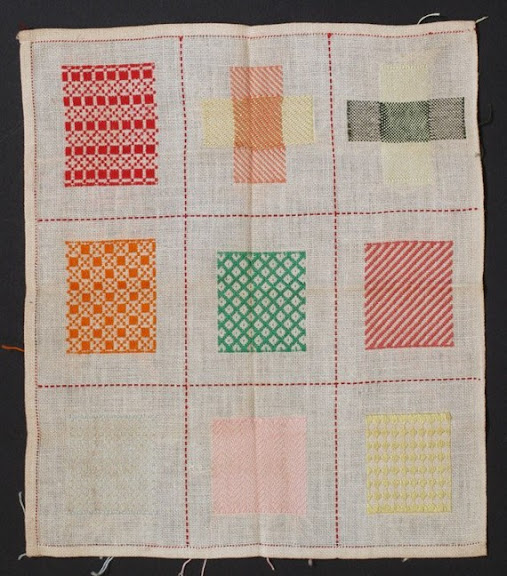 dutch darning sampler