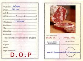 Il contest certificato DOP