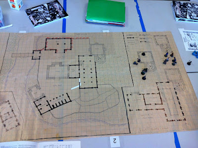 The layout of the settlement