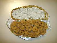 Garlic-Loaf Shrimp Po-Boy