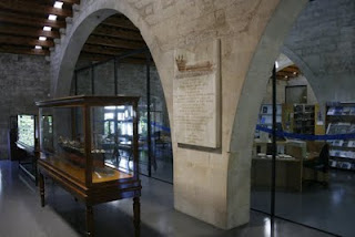 Vestíbul d'entrada a la Biblioteca