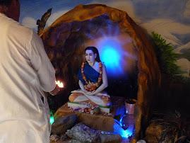 Babaji cave inauguration