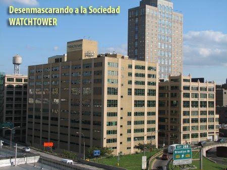 DESENMASCARANDO A LA SOCIEDAD WATCHTOWER