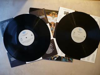 Michael Jackson Dangerous EPC 465802 1 2LP vinyl label