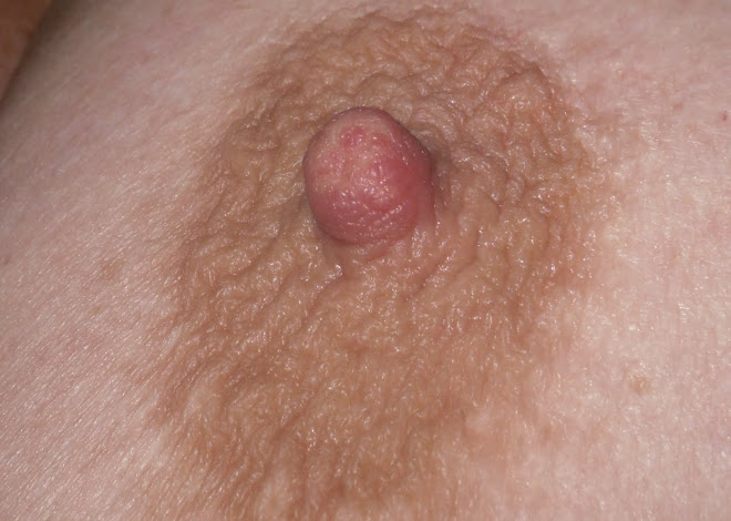 One hard nipple!