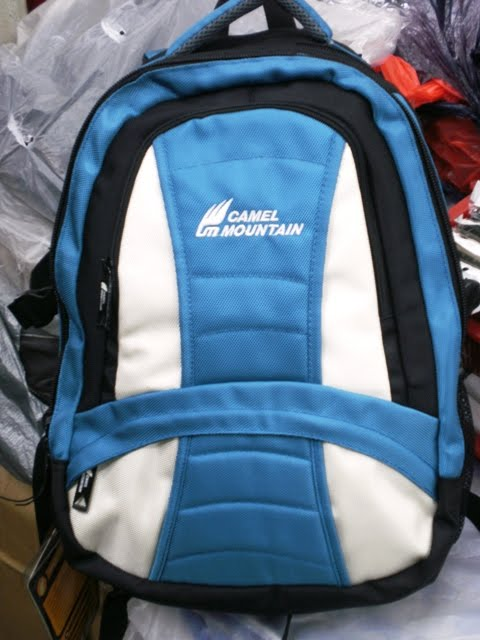 CAMPING BAG CAMEL MOUNTAIN ( BIRU )