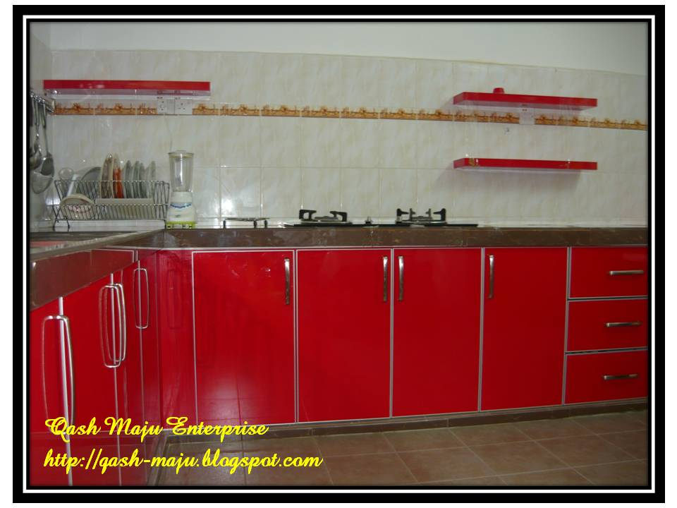 Hiasan dapur for Dapur set aluminium