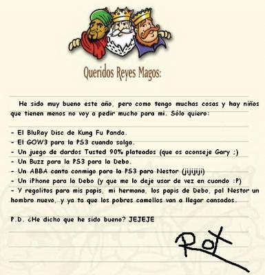 Ya viene la Navidad,cantemos con alegria. - Página 5 Carta+a+los+Reyes+Magos