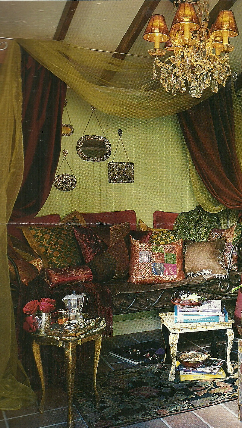 decor bohemian on bohemian