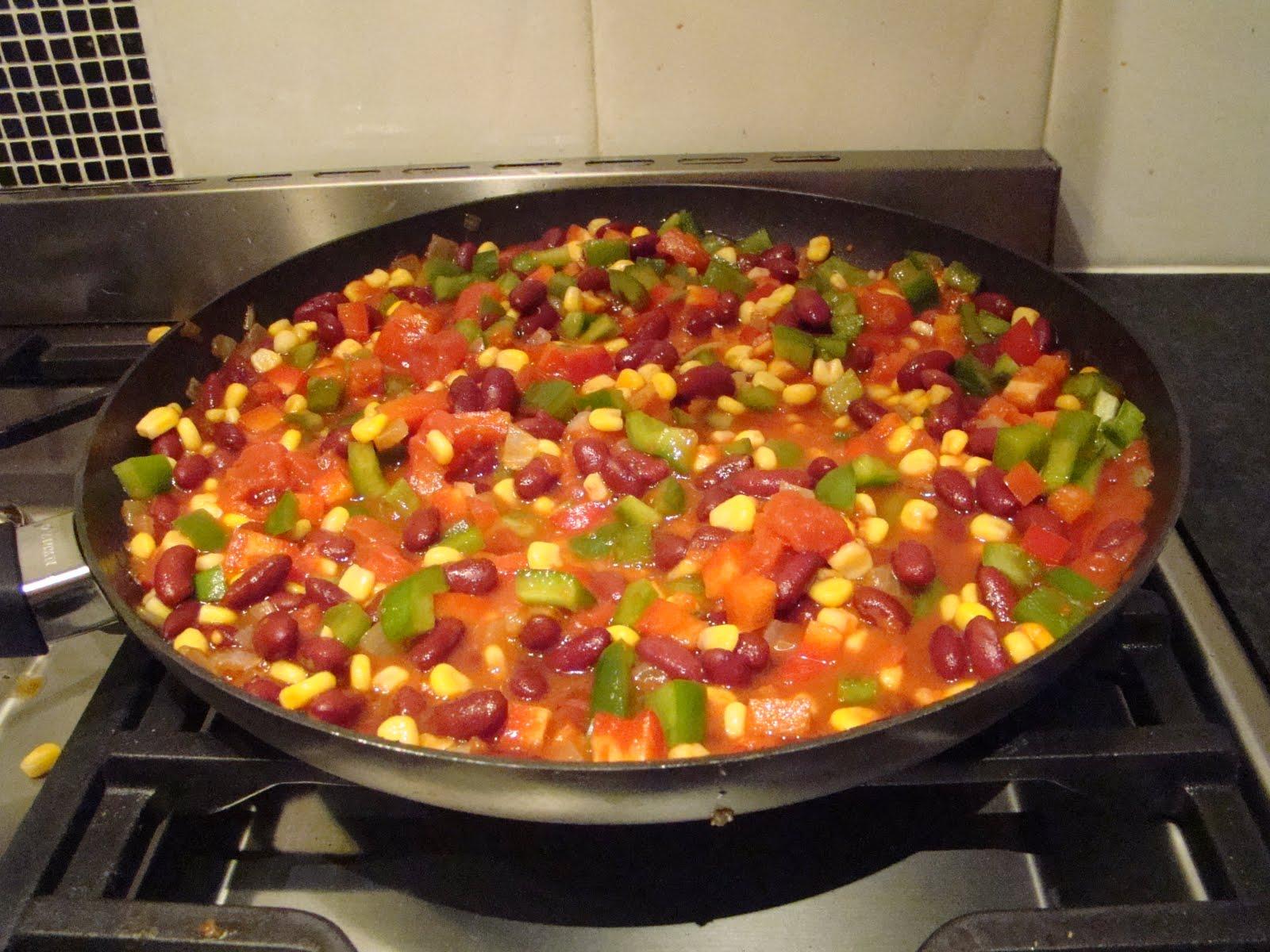 how to make capsicum corn salad