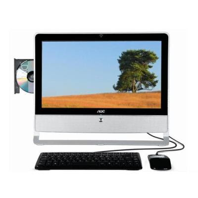 "pc DESKTOP AOC ALL IN ONE EVO 9111 AMD TURION 1GB 160GB MONITOR 18.5"" por R$ 1.199,00"