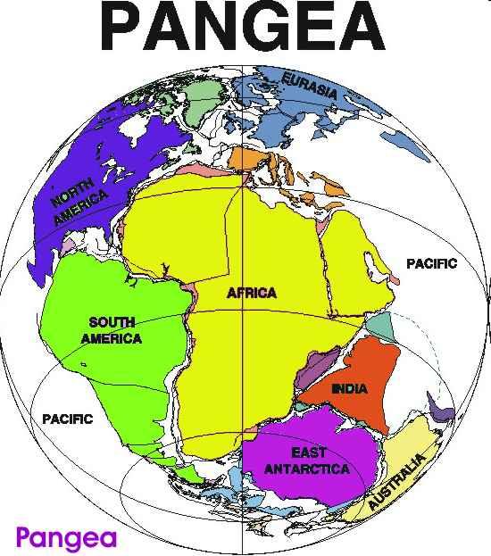 Pangea  El Súper Continente