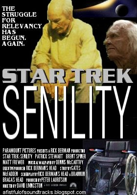Patrick Stewart and Brent Spiner in 'Star Trek: Senility'