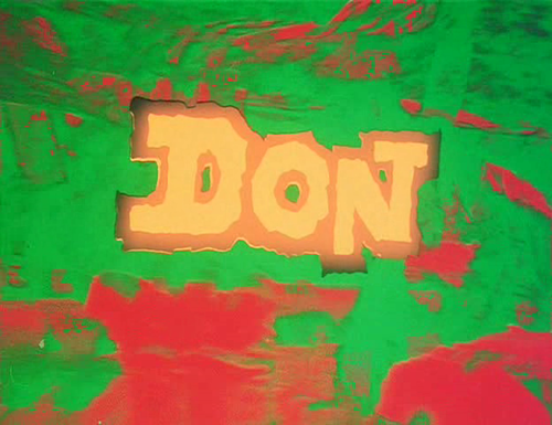 Don opening titles