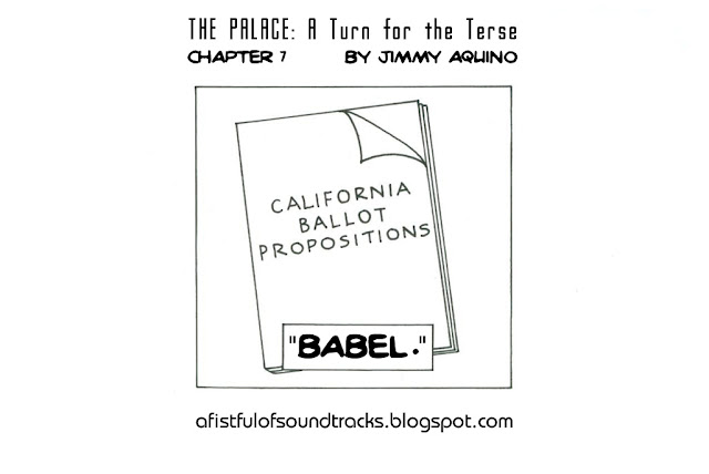 The Palace: A Turn for the Terse, Chapter 7