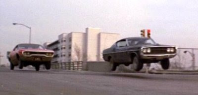 Shaft's Big Score car chase